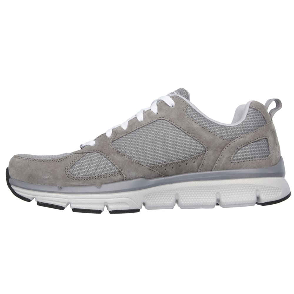 SKECHERS Men's Relaxed Fit Optimizer Athletic Sneakers - WHITE/STEEL PRINT