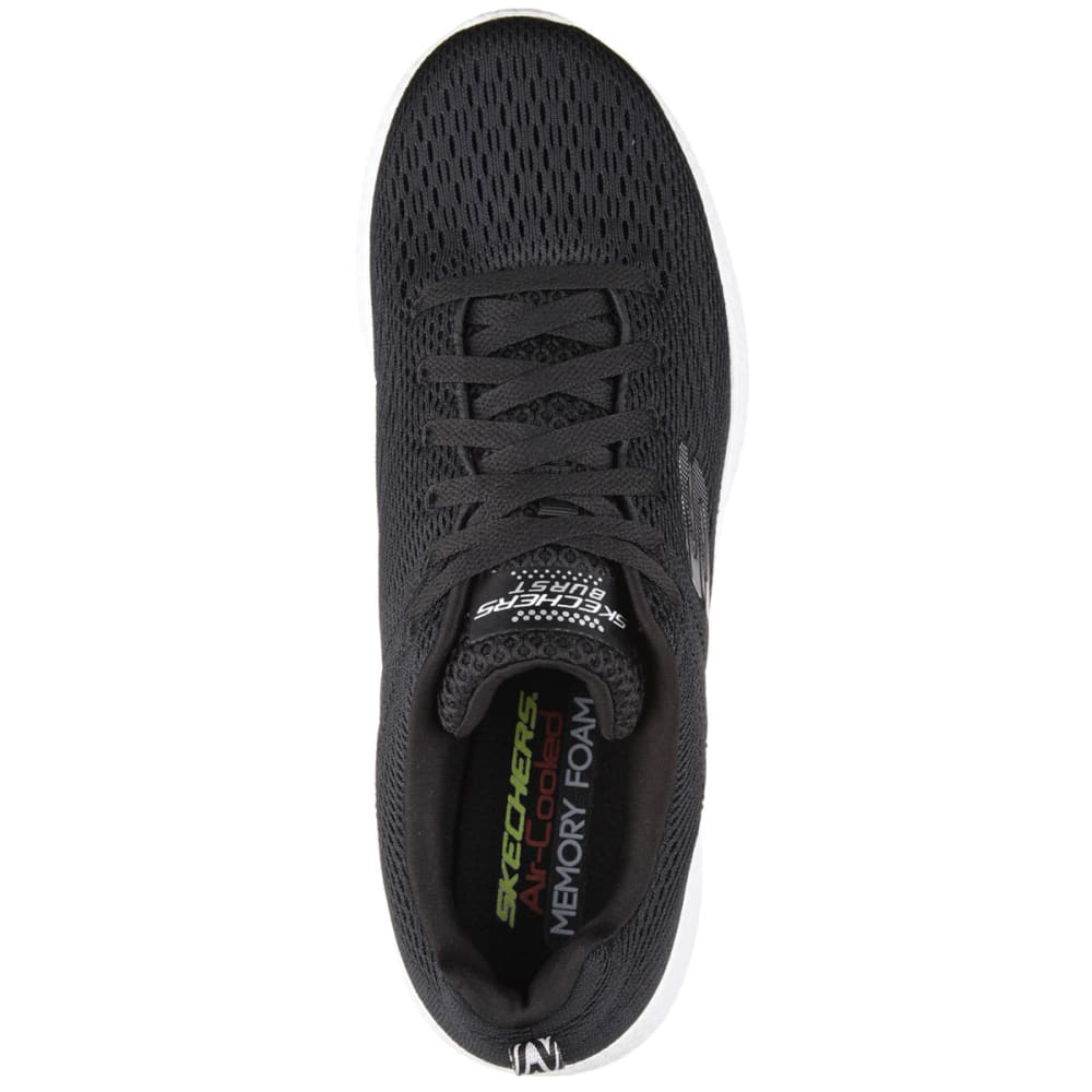 SKECHERS Men's Burst - Second Wind Shoes - BLACK