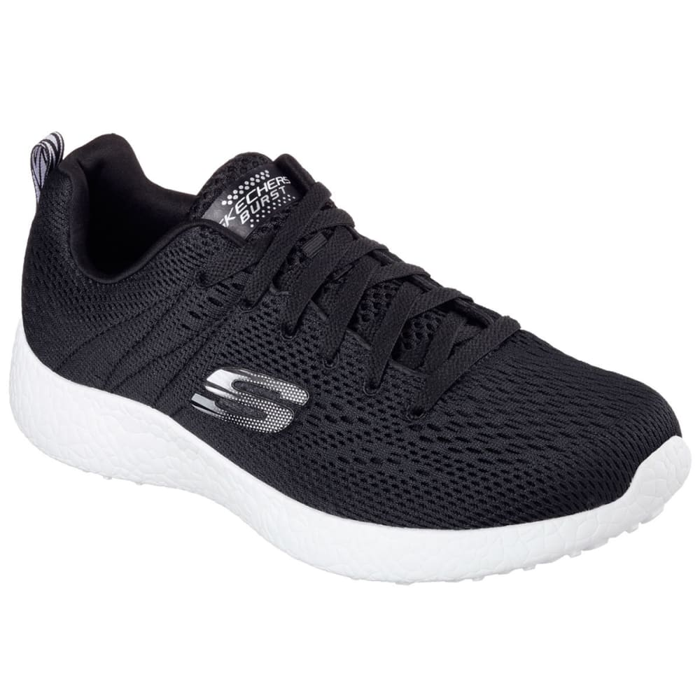 SKECHERS Men's Burst - Second Wind Shoes - BLACK
