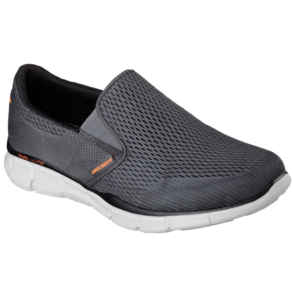 SKECHERS Men's Equalizer- Double Play Shoes - CARBON HEATHER