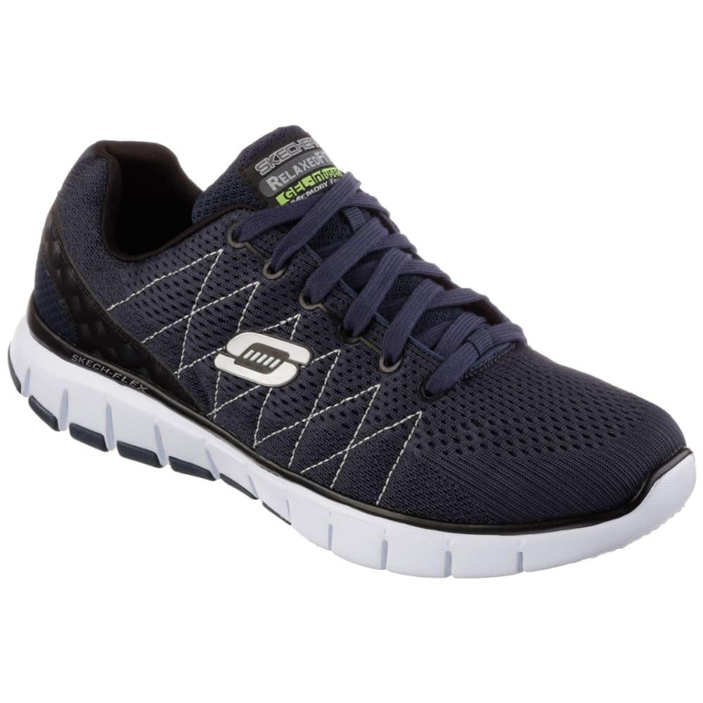 SKECHERS Men's Sketch Flex Running Shoes - ANCHOR BLUE