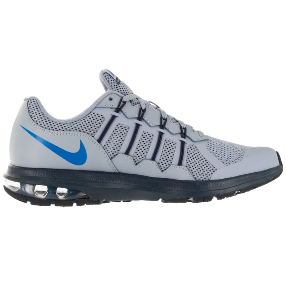 NIKE Men's Air Max Dynasty Running Shoes - NAVY/CORAL