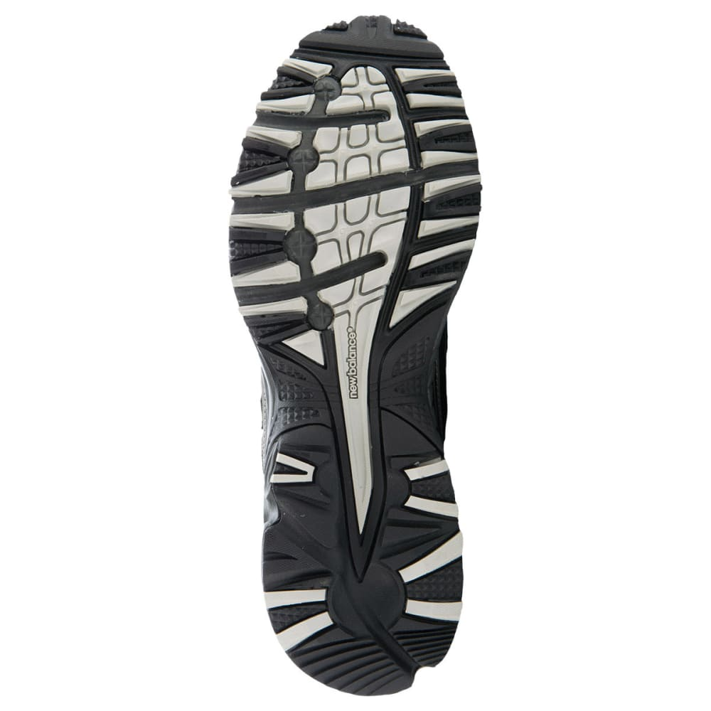NEW BALANCE Men's MT411BS2 Trail Running Shoes, D Width - BLACK