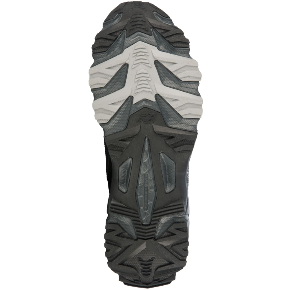 NEW BALANCE Men's MT410 Trail Sneakers, Wide Width - BLACK/SILVER