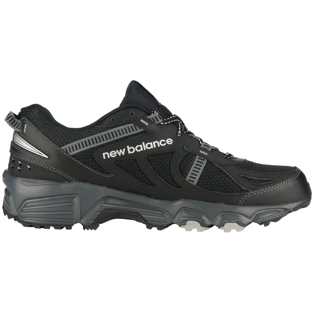 NEW BALANCE Men's MT410 Trail Sneakers, Wide Width - BLACK/SILVER