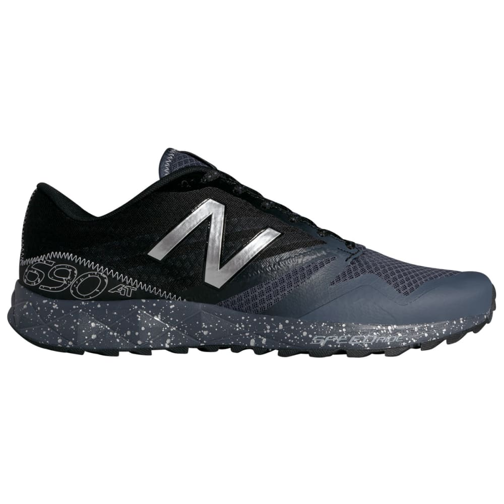 NEW BALANCE Men's 690v1 Trail Running Shoes - BLACK/GREY