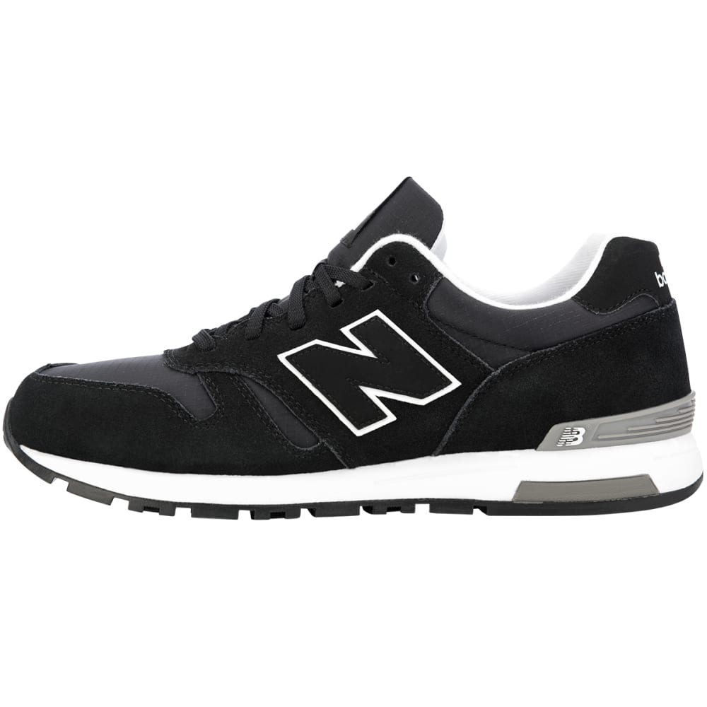NEW BALANCE Men's 565 Suede Shoes - BLACK SUEDE