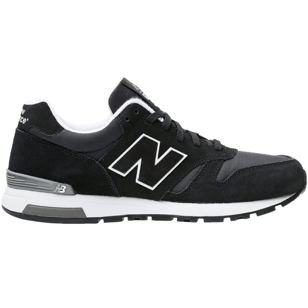 NEW BALANCE Men's 565 Suede Shoes - BLACK SUEDE