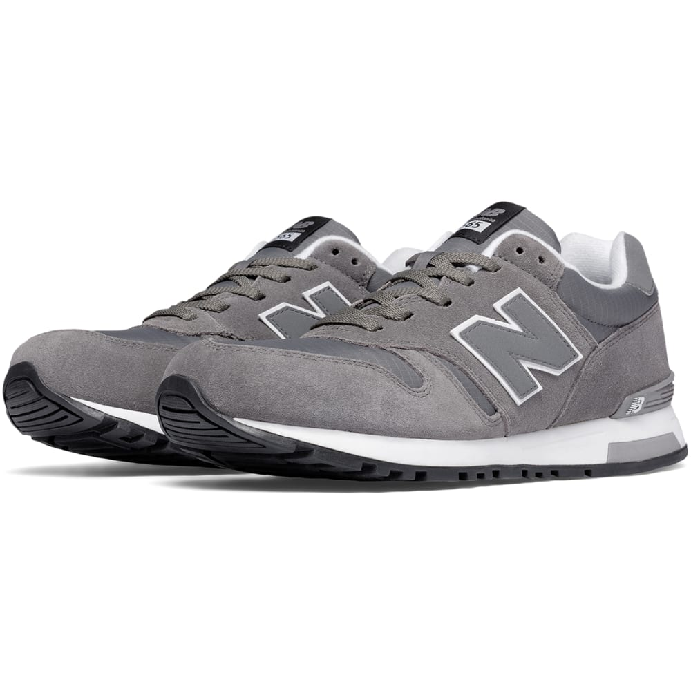 NEW BALANCE Men's 565 Suede Shoes - GREY SUEDE
