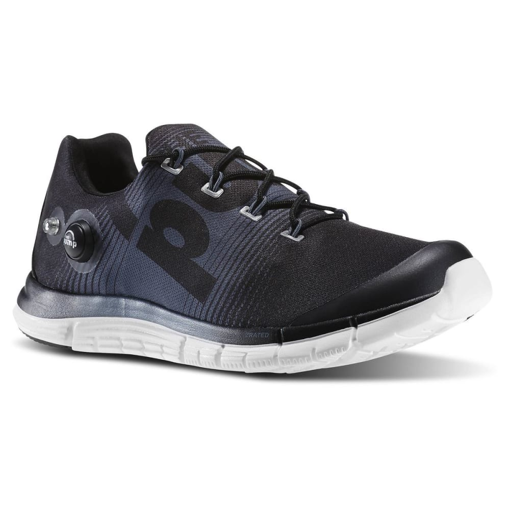 REEBOK Men's Z-Pump Running Shoes - BLACK