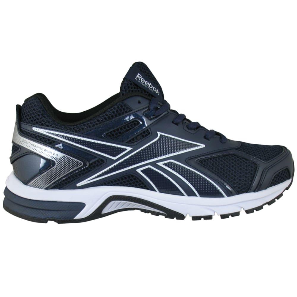 REEBOK Men's Quickchase Run Sneakers, 4E Wide Width - NAVY