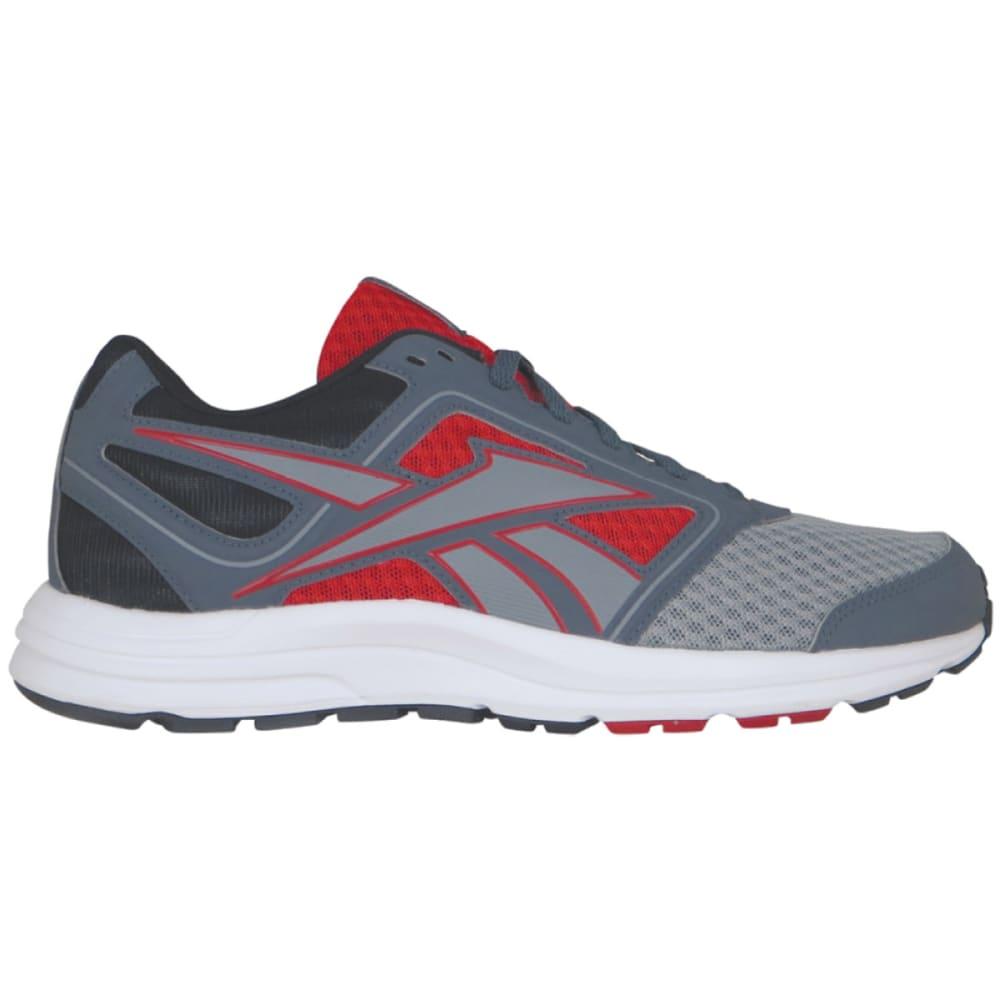 REEBOK Men's Zone Cushrun Sneakers - GREY/RED