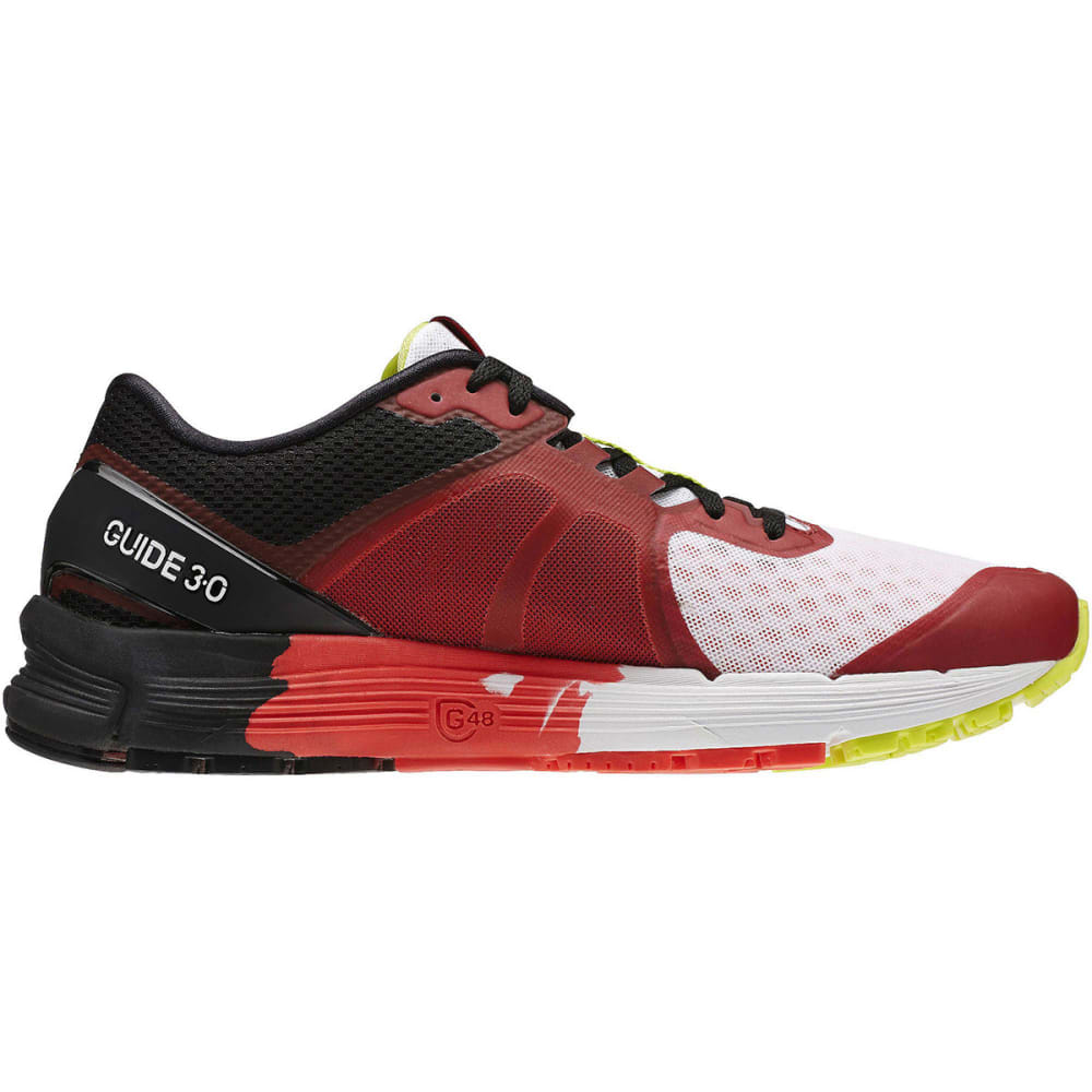 REEBOK Men's One Guide 3.0 Running Shoes - RED