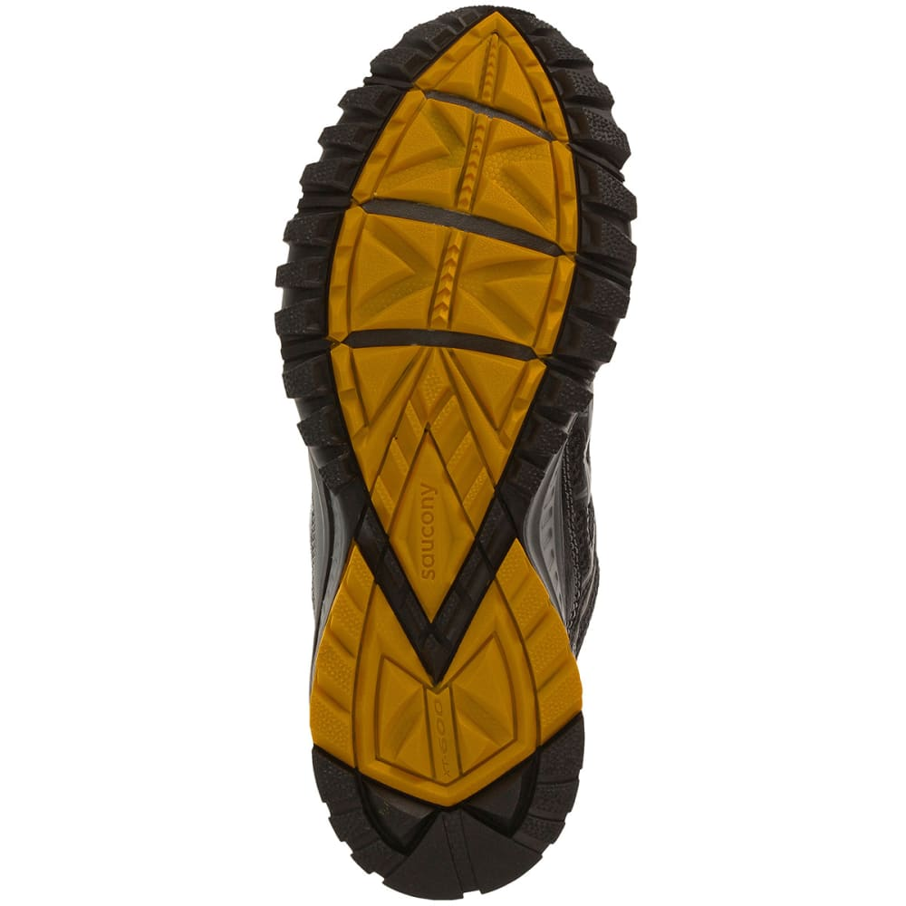 SAUCONY Men's Excursion TR 9 Running Shoes, Wide Width - BLACK/YELLOW