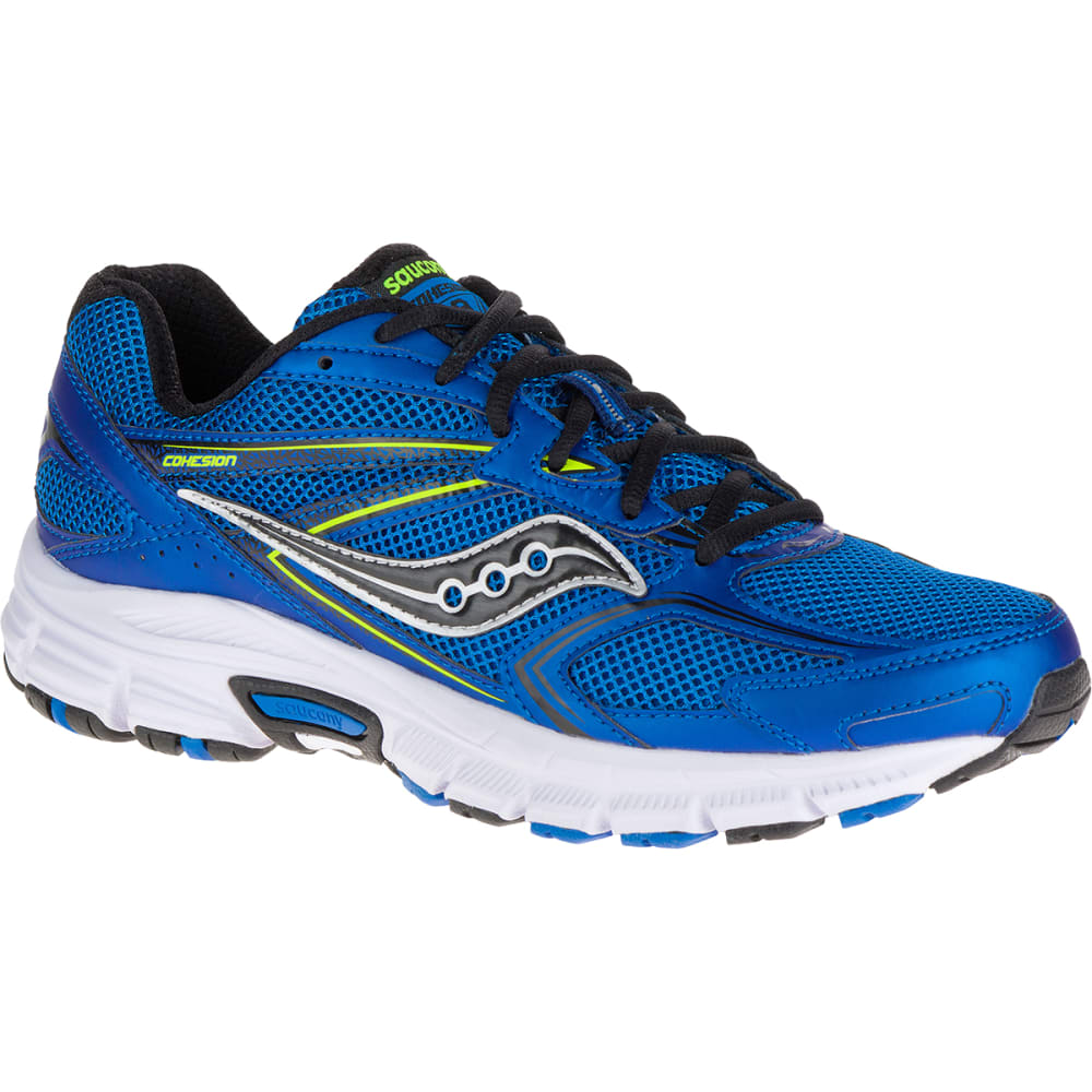 SAUCONY Men's Cohesion 9 Running Shoes - ROYAL BLUE - MEDIUM