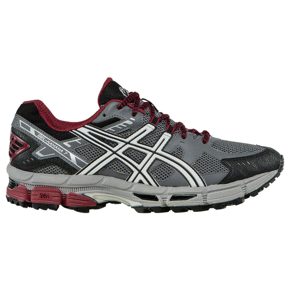 ASICS Men's GEL-Kahana 7 Trail Running Shoes, Titanium - TITANIUM