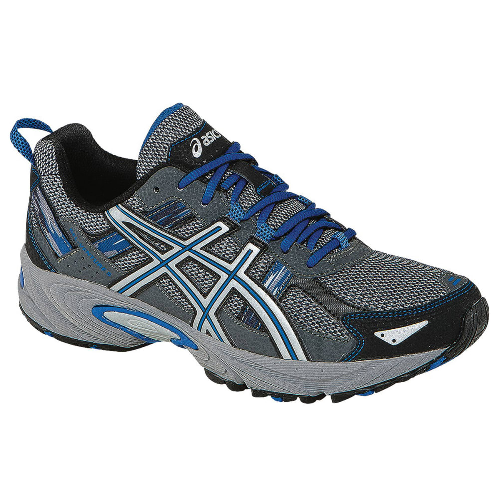ASICS Men's Gel-Venture 5 Running Shoes, Wide - SILVER