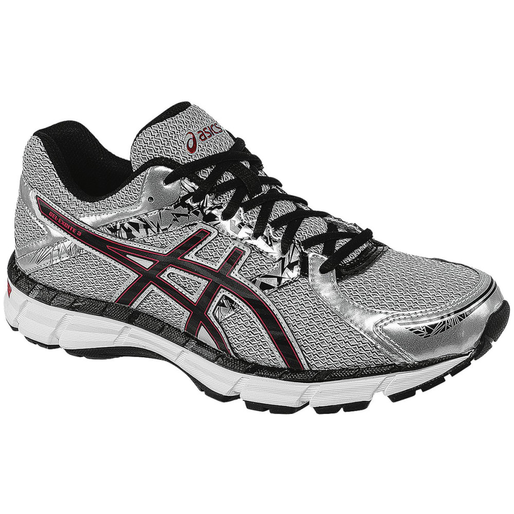 ASICS Men's Gel-Excite 3 Running Shoes - SILVER