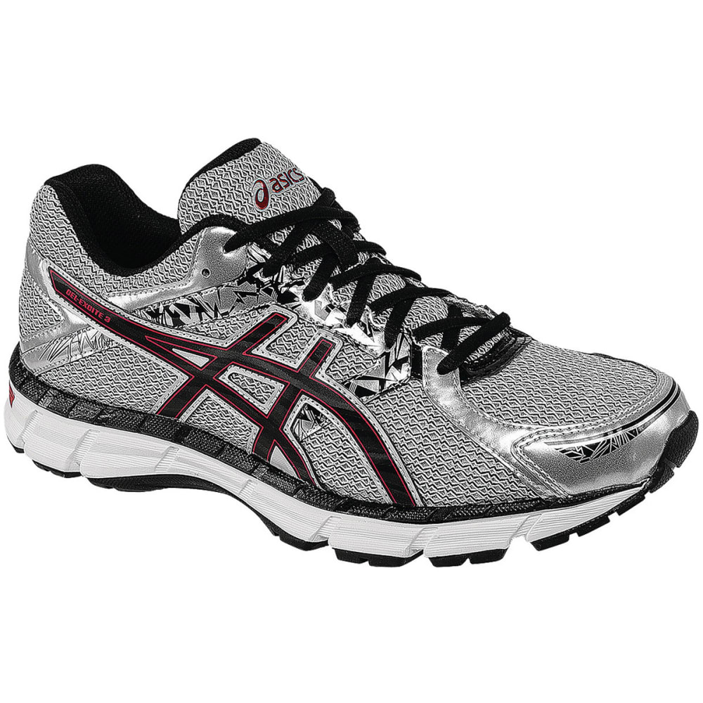 ASICS Men's Gel-Excite 3 Running Shoes, Wide Width - SILVER