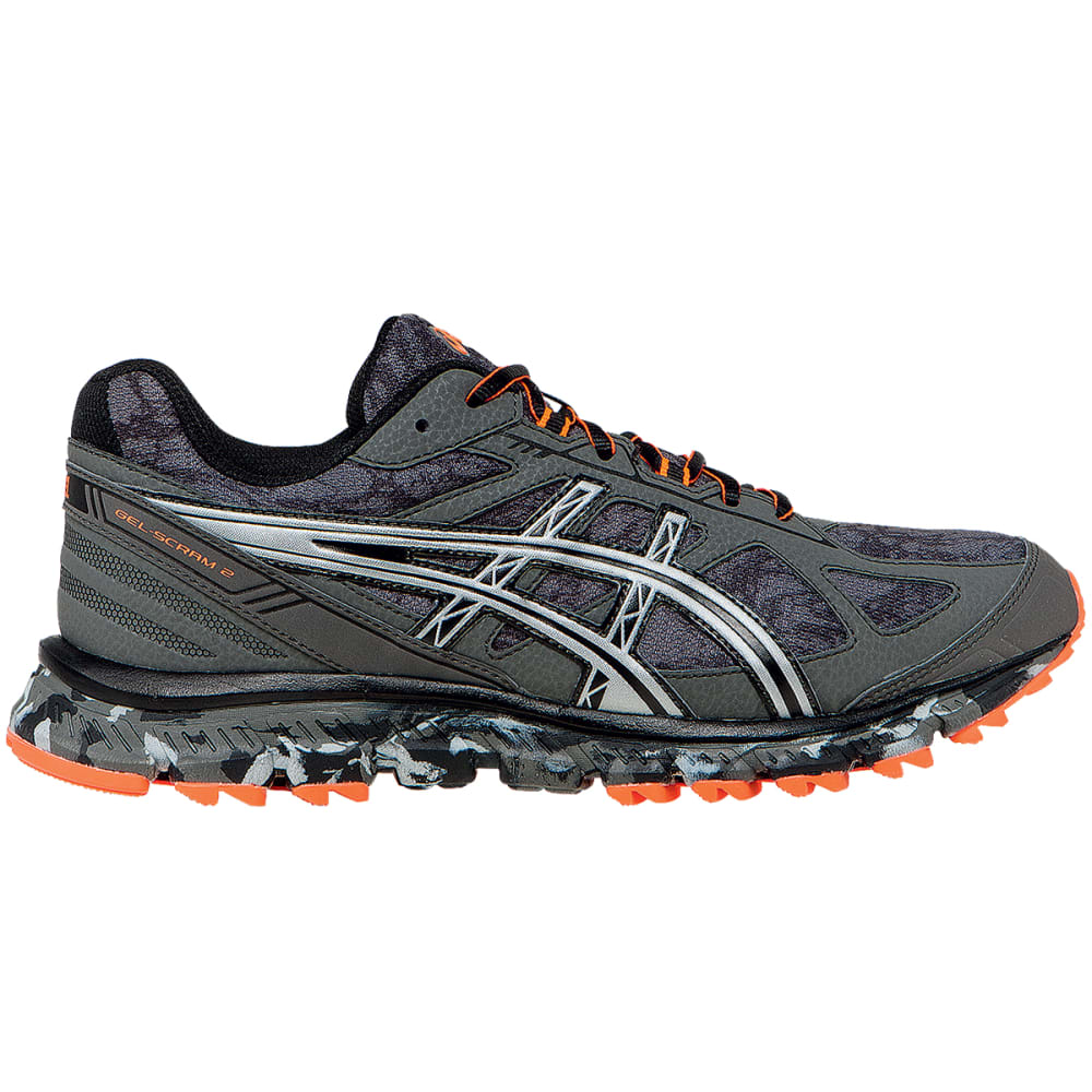 ASICS Men's Gel Scram 2 Running Shoes - GUNMETAL