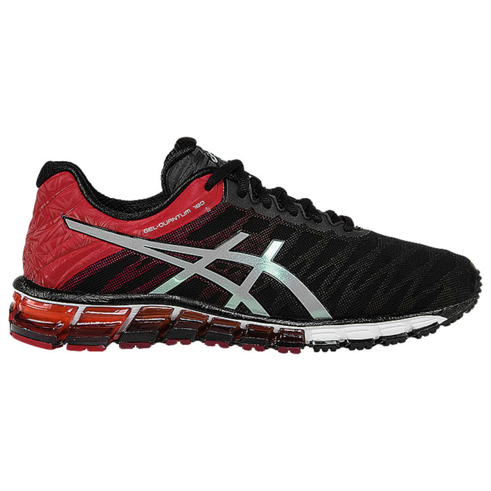 ASICS Men's GEL-Quantum 180 Running Shoes - BLACK/RED