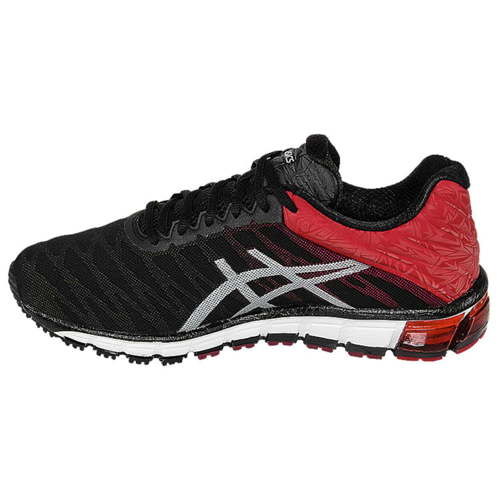 ASICS Men's GEL-Quantum 180 Running Shoes - BLACK/RED