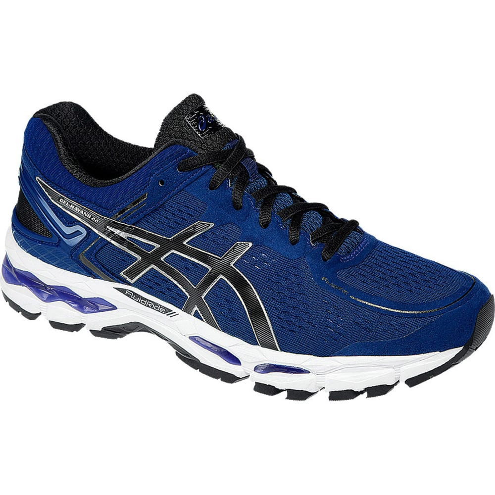 Asics Men's Gel-Kayano 22 Running Shoes - NAVY