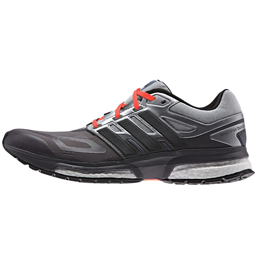 ADIDAS Men's Response Boost Techfit Running Shoes - GRANITE