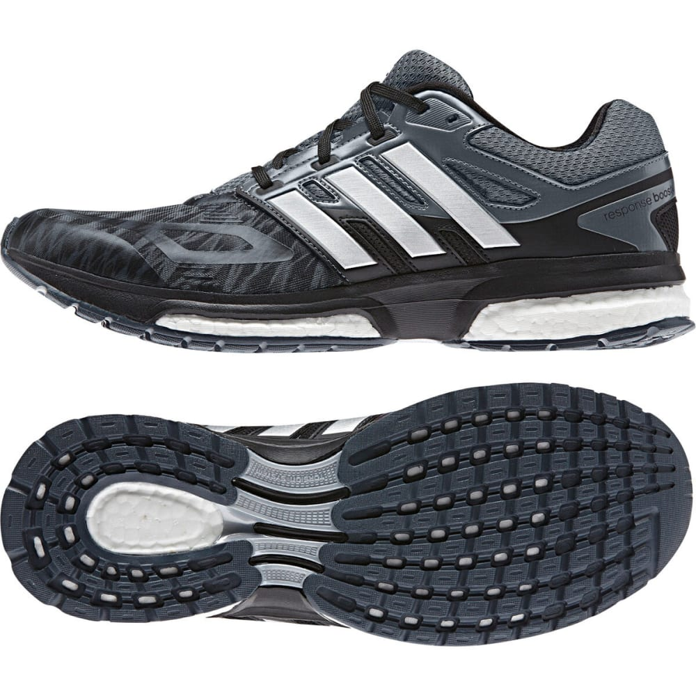 ADIDAS Men's Response Boost Techfit Running Shoes - GRAY