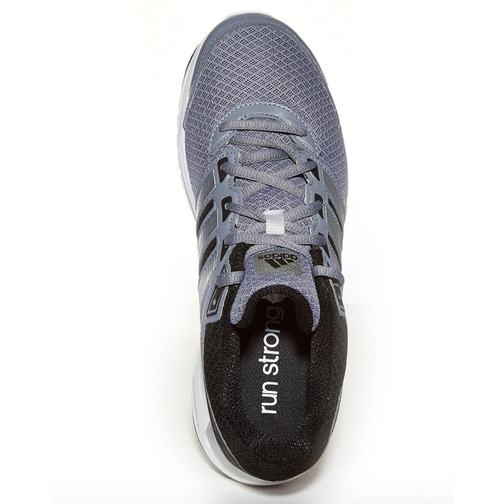 ADIDAS Men's Duramo 6 Shoes - BLACK/GREY