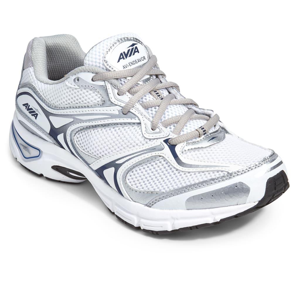 AVIA Men's Avi-Endeavor Running Shoes, 4E Width - WHITE