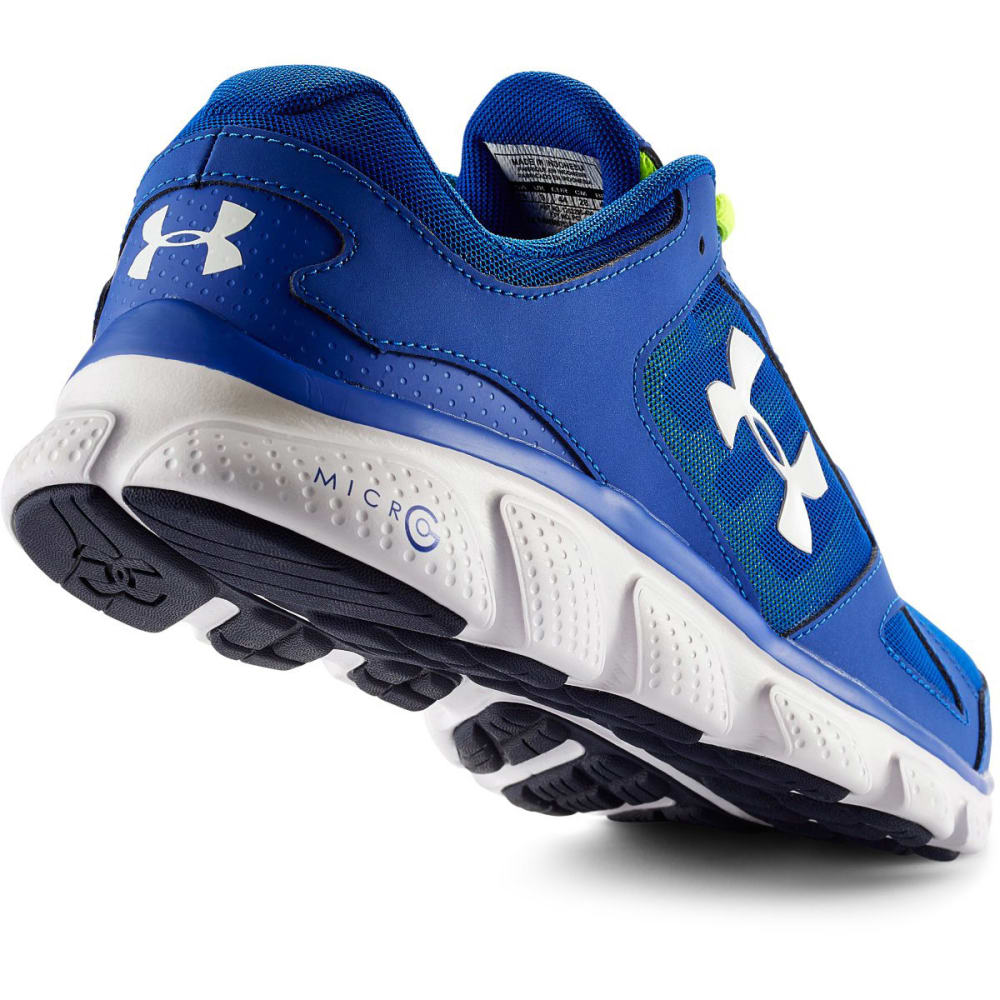 UNDER ARMOUR Men's Assert V Running Shoes - ROYAL BLUE