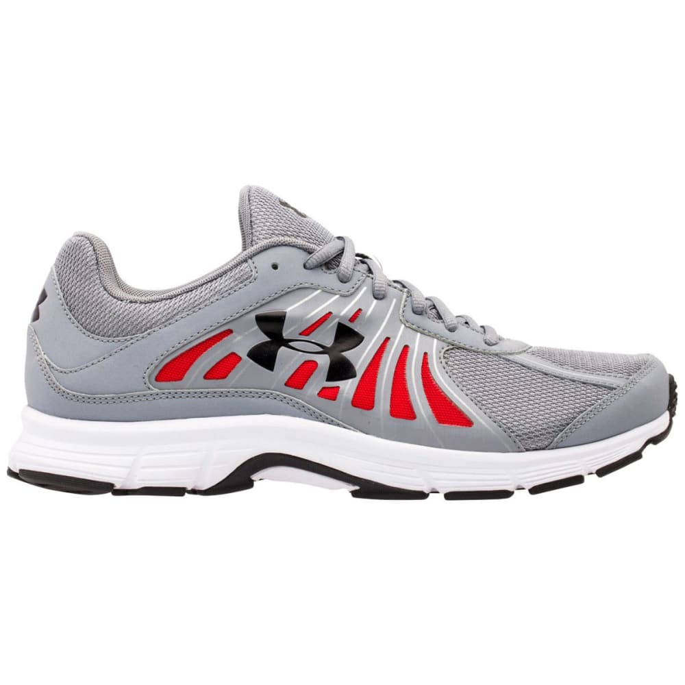 UNDER ARMOUR Men's Dash Running Shoes - STEEL