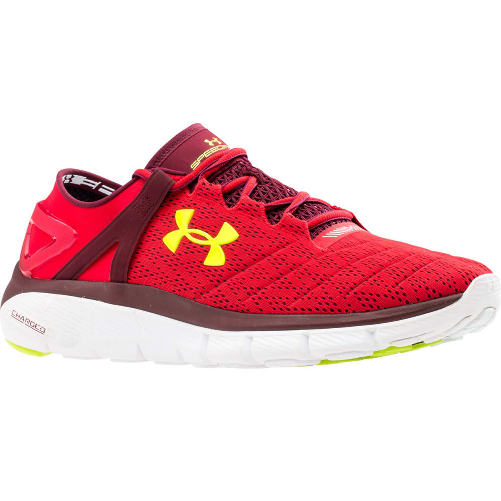 UNDER ARMOUR Men's Speedform® Fortis Running Shoes - RED