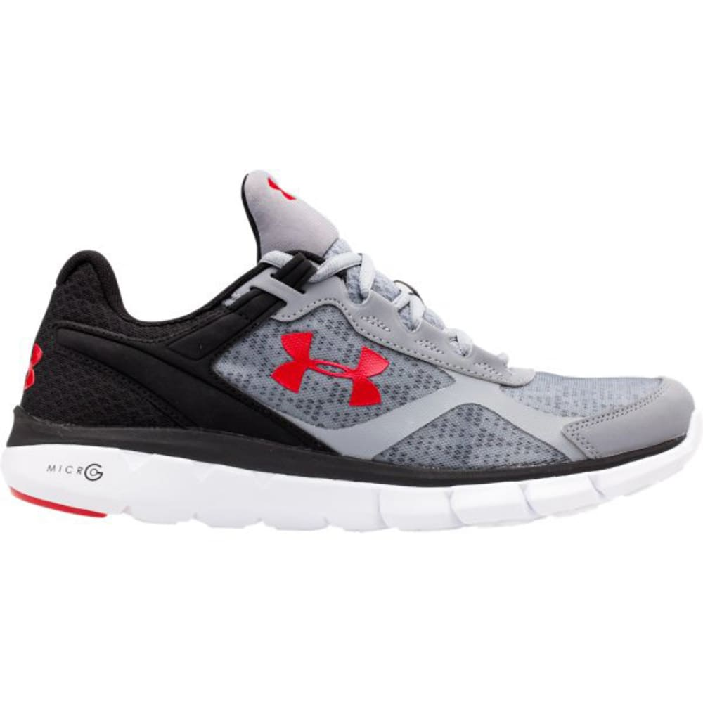 UNDER ARMOUR Men's Micro G Velocity RN Running Shoes - STEEL