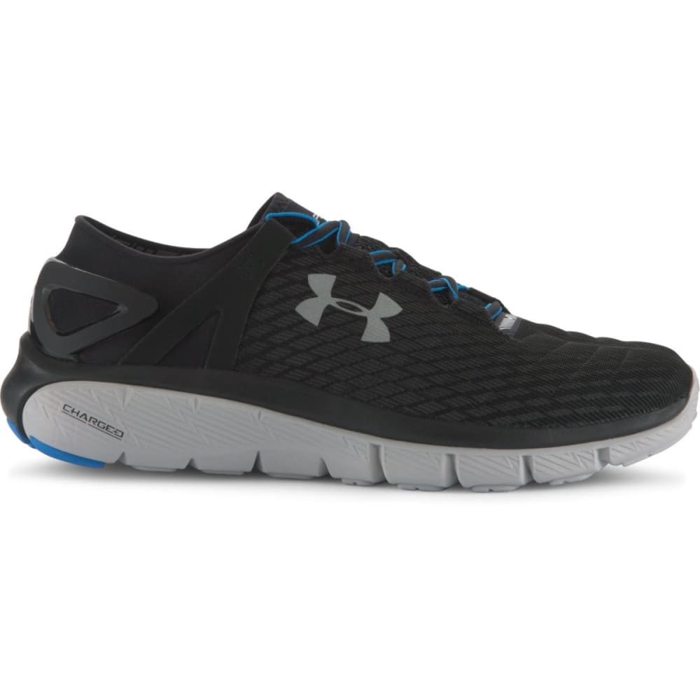 UNDER ARMOUR Men's SpeedForm® Fortis Night Running Shoes - NITE BLK