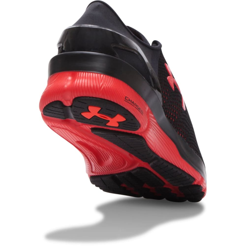 UNDER ARMOUR Men's SpeedForm™ Apollo 2 Sneakers - BLACK/RED