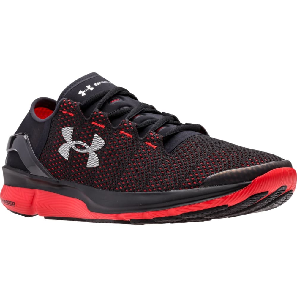UNDER ARMOUR Men's SpeedForm™ Apollo 2 Sneakers - BLACK/RED