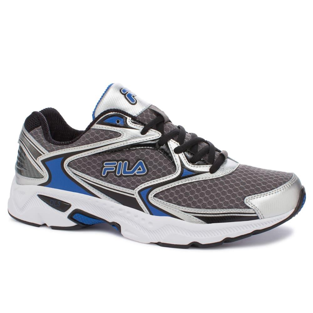 FILA Men's Xtent Running Shoes, Medium - SILVER