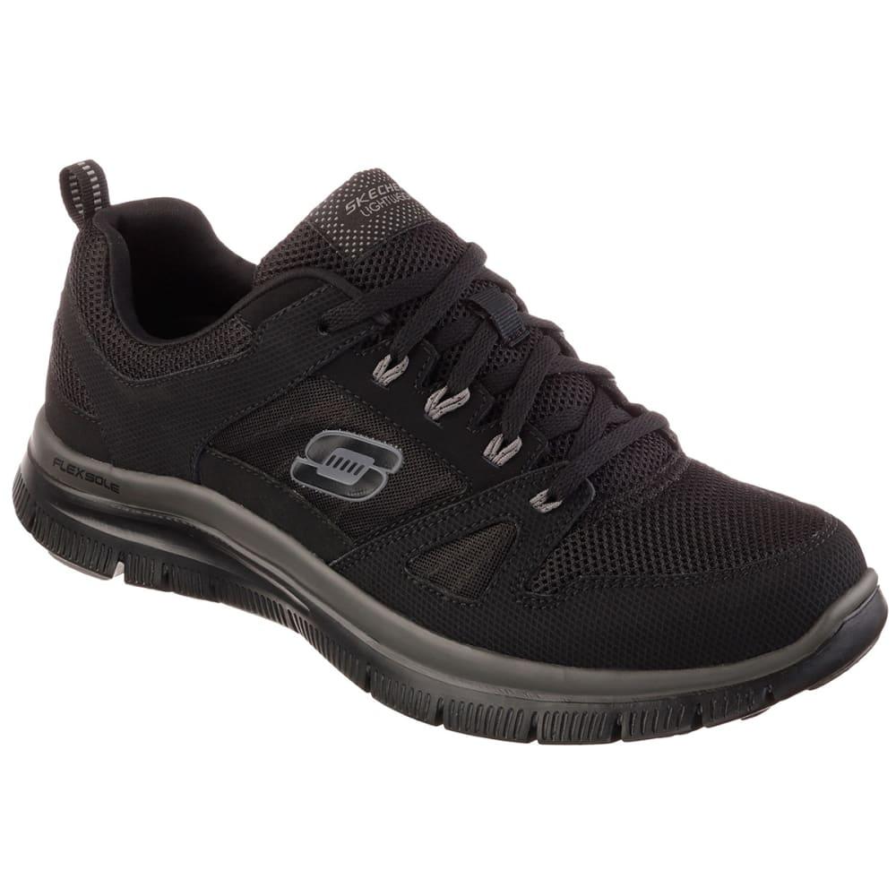 SKECHERS Men's Flex Advantage Training Shoe - BLACK