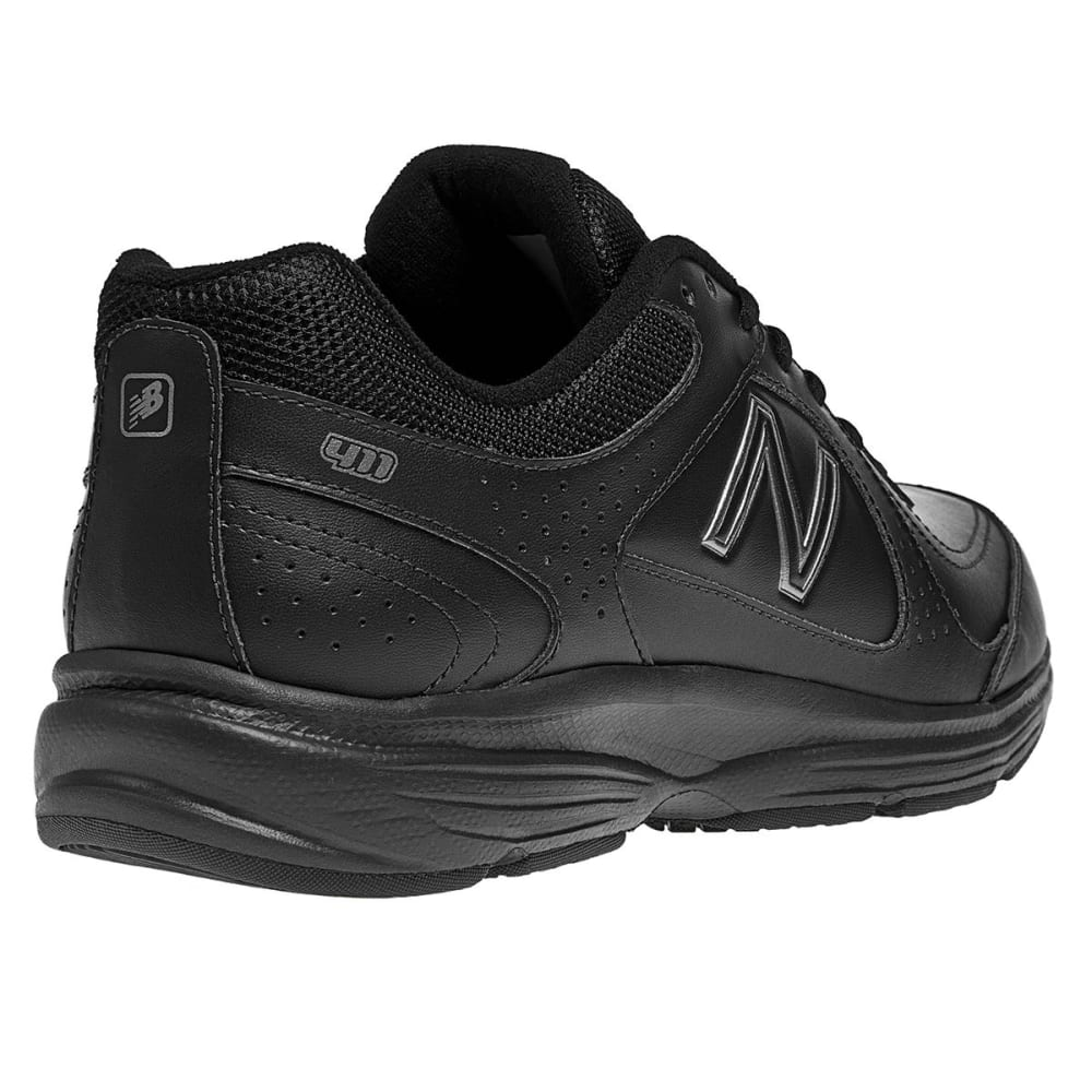 NEW BALANCE Men's MW411BK Shoes, Wide Width - BLACK