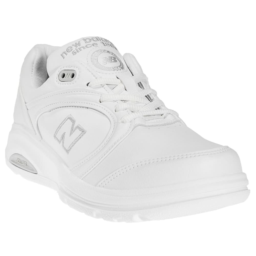 NEW BALANCE Men's 812 Walking Shoes, 4E Width - WHITE/LIGHT GREY