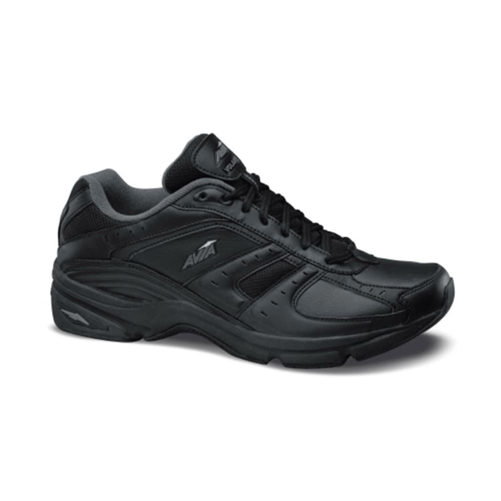 AVIA Men's Volante Walker Shoes, Wide - BLACK