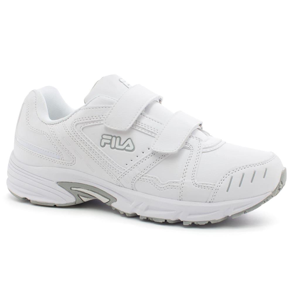 FILA Men's Talon 2 Strap Shoes, Wide - WHITE