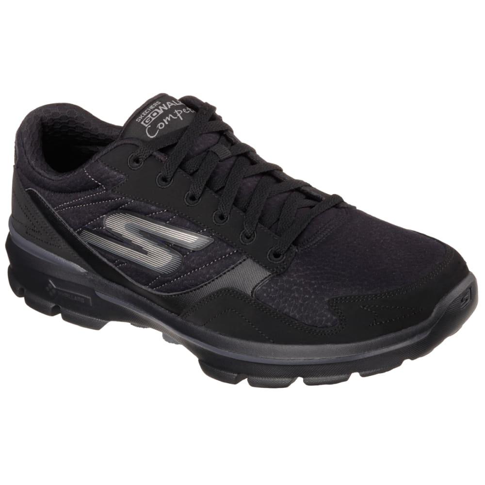 SKECHERS Men's GOWalk 3 - Compete LT Sneakers - BLACK/NEPTUNE