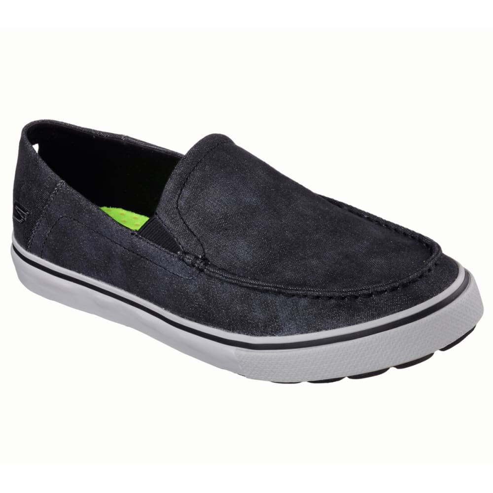 SKECHERS Men's GOvulc Diverge Slip On Walking Shoe - BLACK
