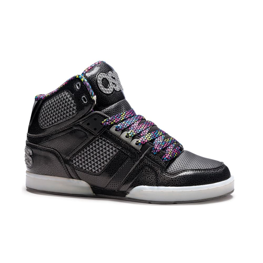 OSIRIS Young Men's NYC 83 Shoes - BLACK/SILVER