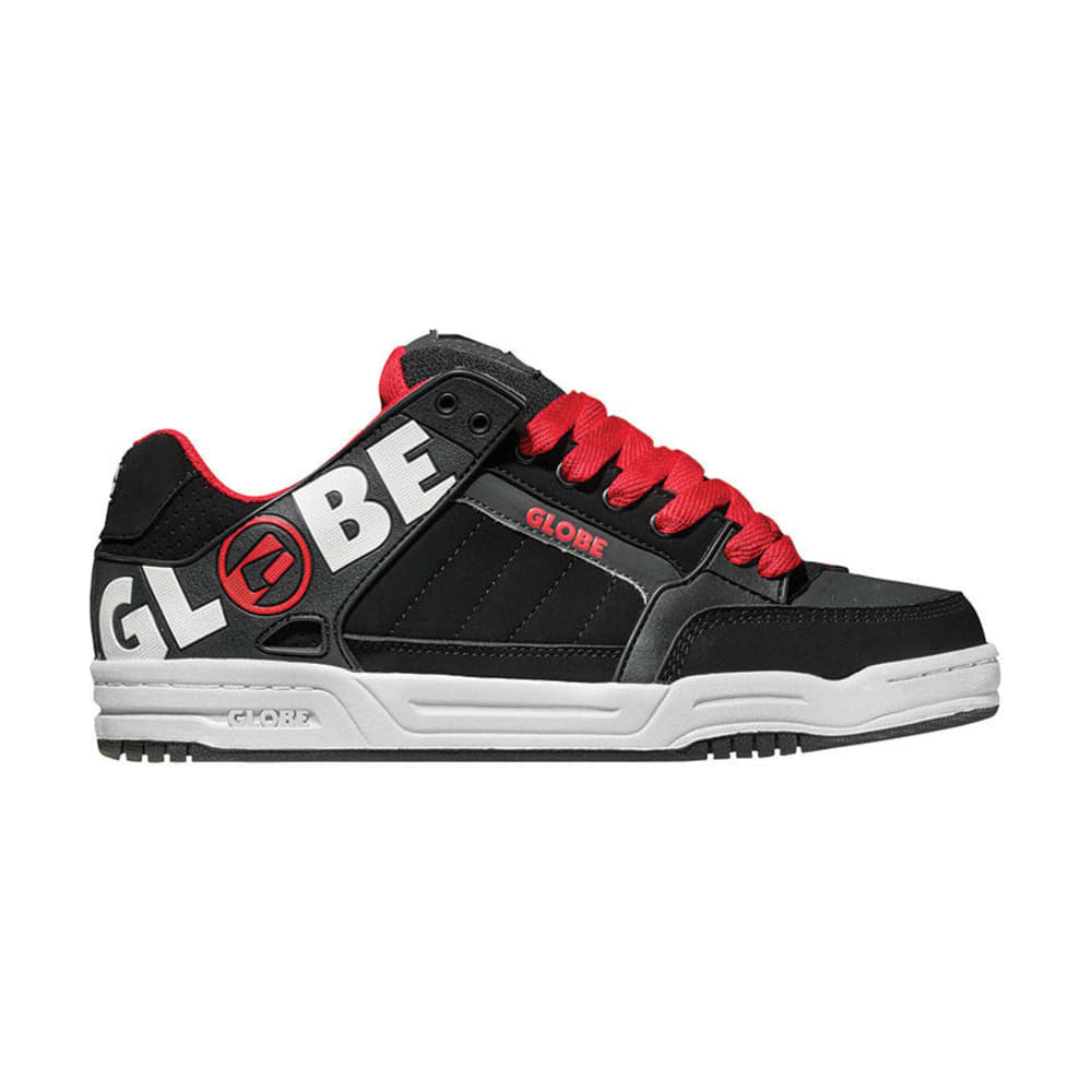GLOBE Young Men's Tilt Shoes - BLACK/NIGHT/RED