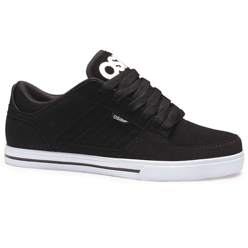 OSIRIS Young Men's Protocol Shoes - BLACK/WHITE