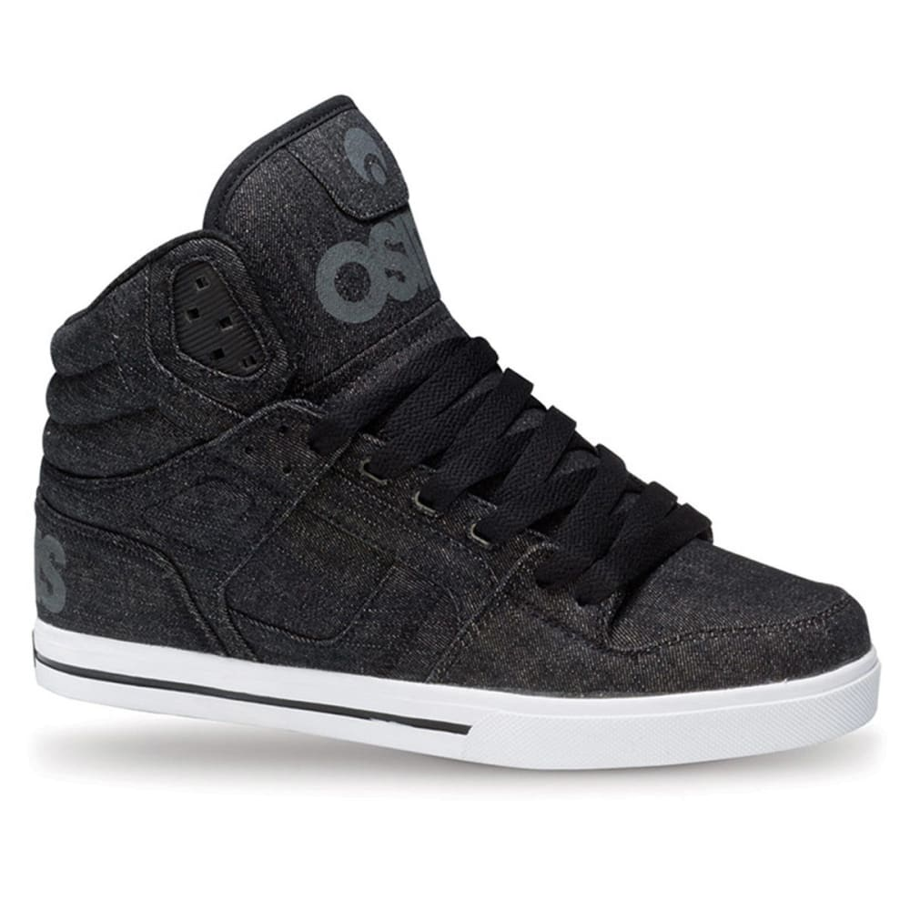 OSIRIS Men's Clone Skate Shoes - BLACK 2397
